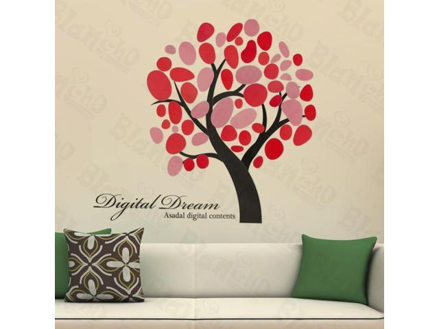 Home Kids Imaginative Art Creative tree - Large Wall Decorative Decals Appliques Stickers