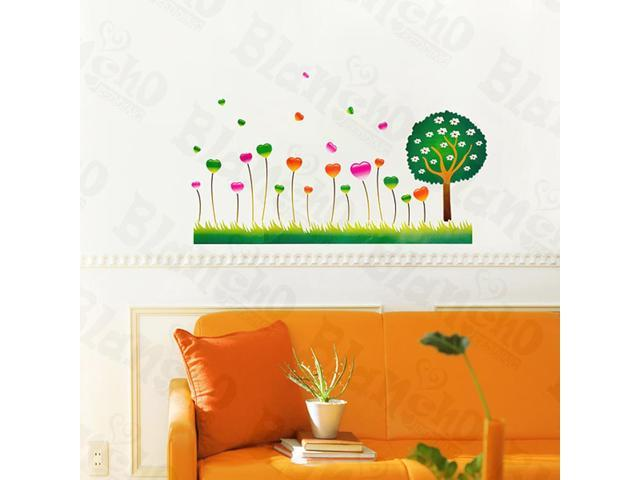 Home Kids Imaginative Art Thrive Forest - Wall Decorative Decals Appliques Stickers