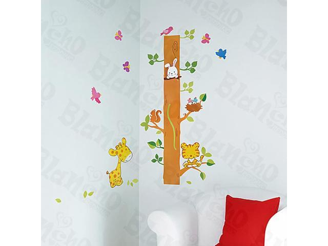 Home Kids Imaginative Art Tree Rabit - Large Wall Decorative Decals Appliques Stickers