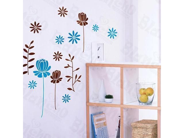 Home Kids Imaginative Art Pleasant Flourish - Wall Decorative Decals Appliques Stickers