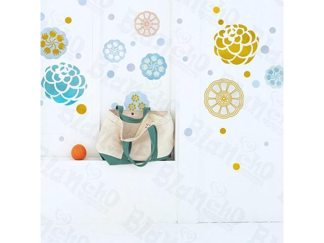 Home Kids Imaginative Art Paint Petals - Wall Decorative Decals Appliques Stickers