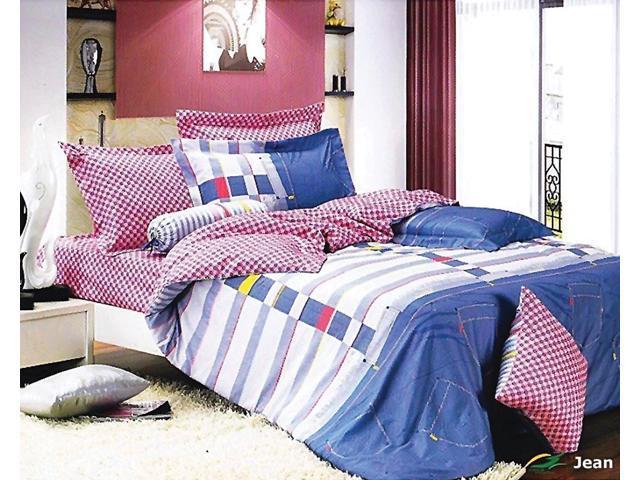Teen/Guess Room Bedding Modern Twin Duvet Cover Set, Le Vele LE455T