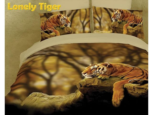 Safari Themed Luxury Queen Bedding Duvet Cover Set Dolce Mela DM458Q