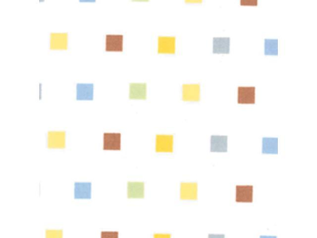 Trend Lab Baby Infant Nursery Room Cradle Decorative Mini Squares Crib Sheet