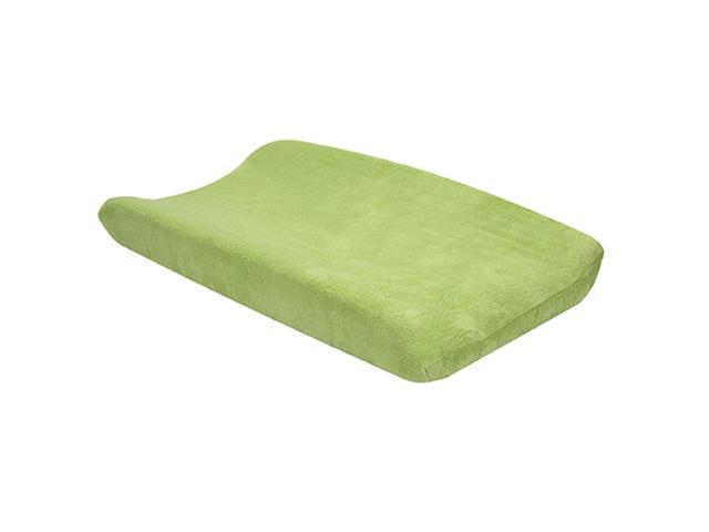 Trend Lab Coral Fleece Nursery Baby Diaper Soft Changing Pad Cover Sage Green
