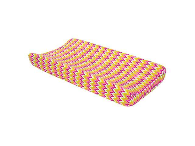 Trend Lab Nursery Kids Baby Diaper Soft Changing Pad Cover Cupcake