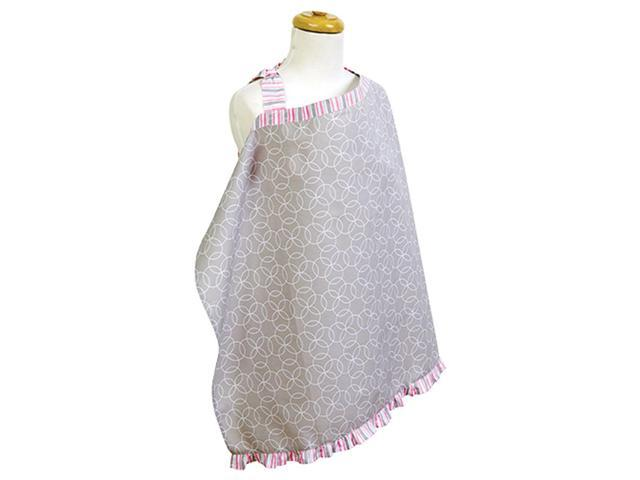 Trend Lab Cotton Nursery Privacy Mother BreastFeeding Nursing Cover Lily