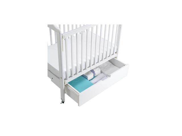 Angeles Kids Children Home Natural Crib Drawer