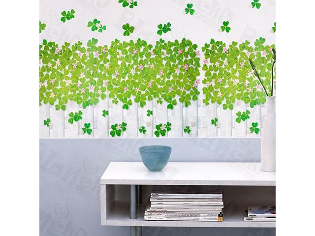 Home Kids Imaginative Art Green Garden 1 - Large Wall Decorative Decals Appliques Stickers