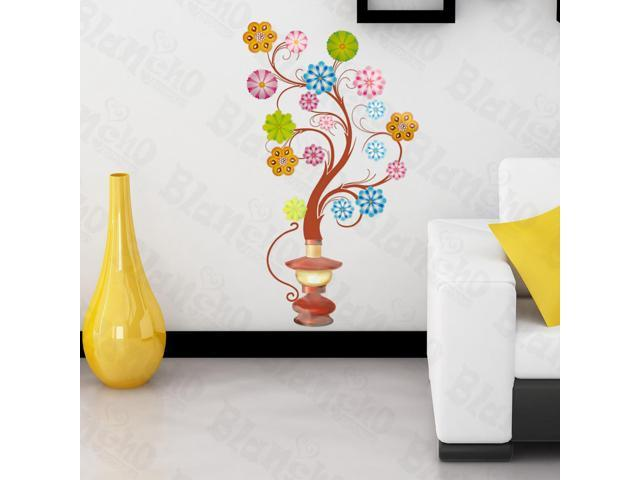 Home Kids Imaginative Art Flower Lamp - Large Wall Decorative Decals Appliques Stickers