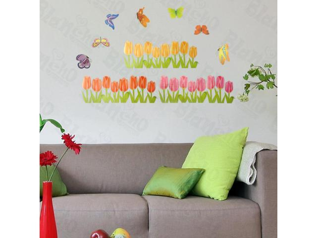 Home Kids Imaginative Art Corner Blossom - Large Wall Decorative Decals Appliques Stickers