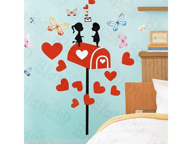 Home Kids Imaginative Art Mail Lover-X-Large Wall Decorative Decals Appliques Stickers