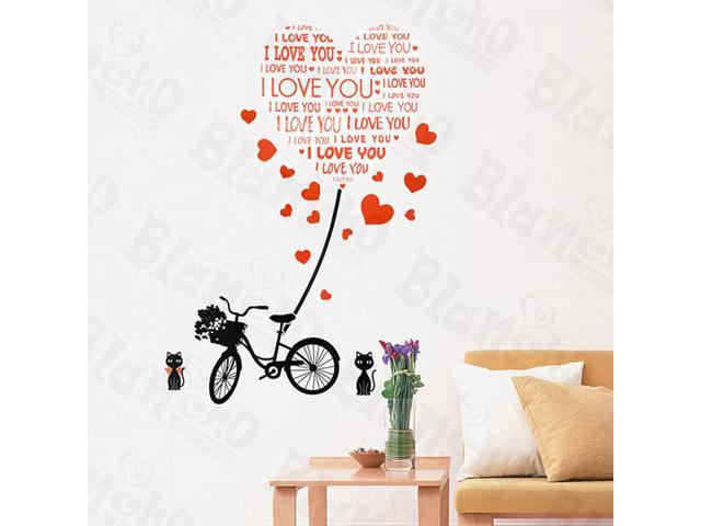 Home Kids Imaginative Art Love Letter-X-Large Wall Decorative Decals Appliques Stickers