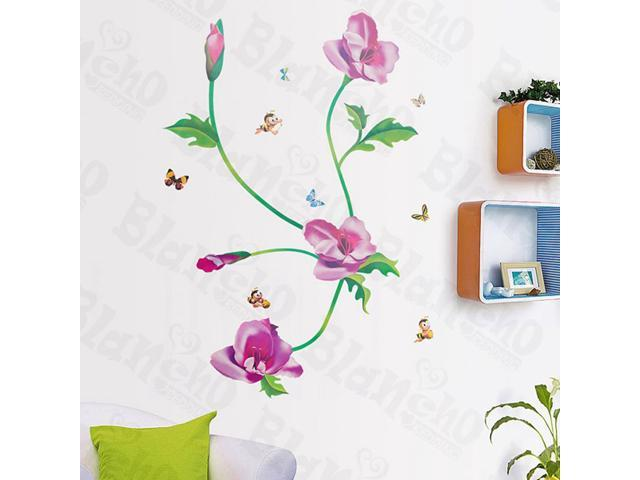 Home Kids Imaginative Art Spring Garden-X-Large Wall Decorative Decals Appliques Stickers