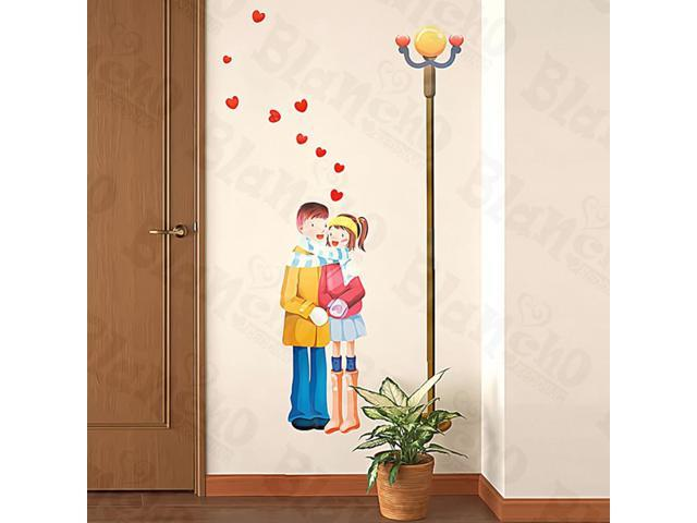 Home Kids Imaginative Art Teenager Love - Medium Wall Decorative Decals Appliques Stickers