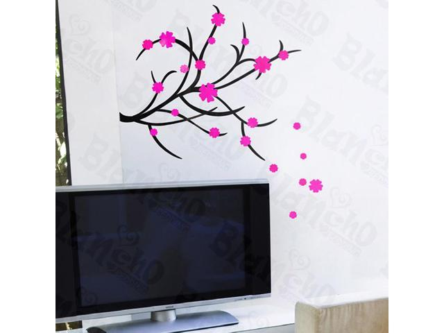 Home Kids Imaginative Art Dancing Flowers - Wall Decorative Decals Appliques Stickers