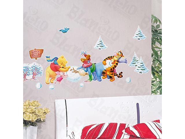 Home Kids Imaginative Art Winnie The Pooh-1 - Medium Wall Decorative Decals Appliques Stickers