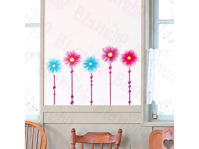 Home Kids Imaginative Art Two Blue - Medium Wall Decorative Decals Appliques Stickers