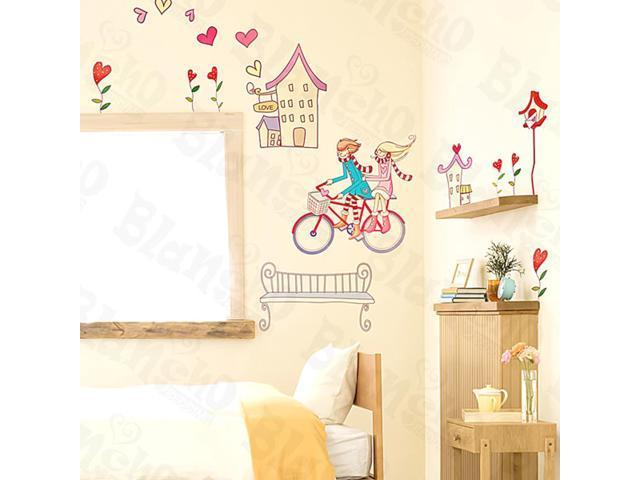 Home Kids Imaginative Art Driver's High - Medium Wall Decorative Decals Appliques Stickers