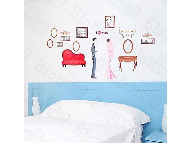 Home Kids Imaginative Art Marry Me - Medium Wall Decorative Decals Appliques Stickers