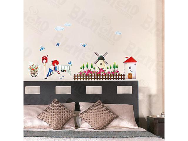 Home Kids Imaginative Art Without Word - Medium Wall Decorative Decals Appliques Stickers