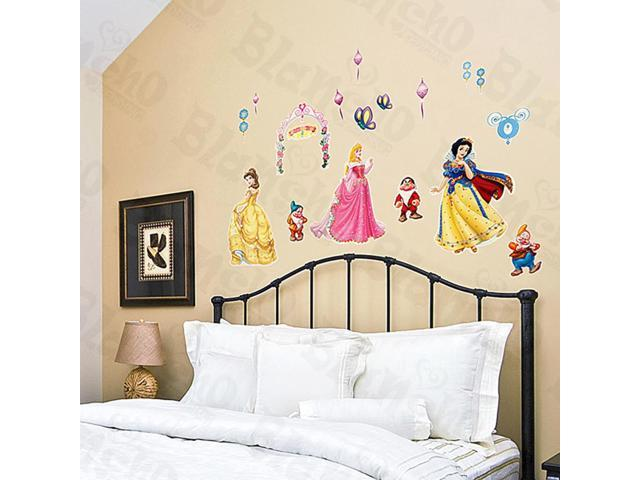 Home Kids Imaginative Art Princess-1 - Medium Wall Decorative Decals Appliques Stickers