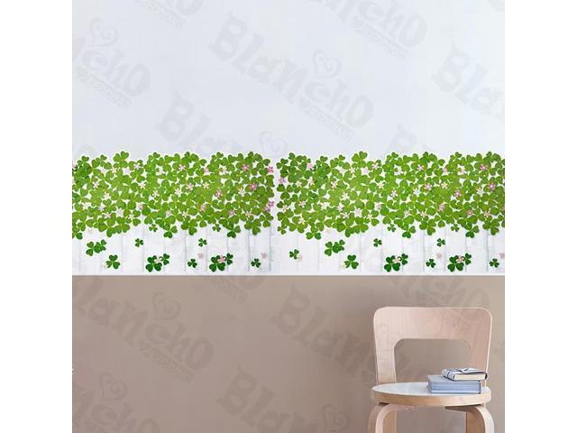 Home Kids Imaginative Art Green Garden 3 - Wall Decorative Decals Appliques Stickers