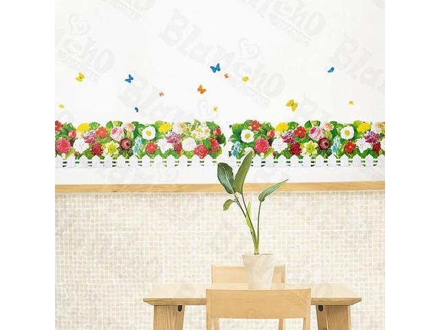Home Kids Imaginative Art Colorful Grove - Wall Decorative Decals Appliques Stickers