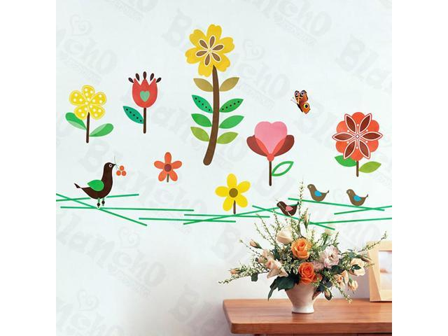 Home Kids Imaginative Art Cheerful Front Yard - Wall Decorative Decals Appliques Stickers