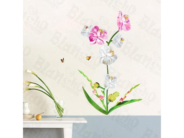 Home Kids Imaginative Art Pretty Blossom - Wall Decorative Decals Appliques Stickers
