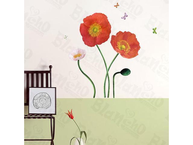 Home Kids Imaginative Art Garish Flourish - Wall Decorative Decals Appliques Stickers