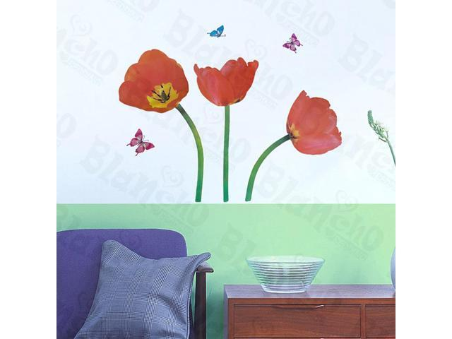 Home Kids Imaginative Art Amazing Red - Wall Decorative Decals Appliques Stickers