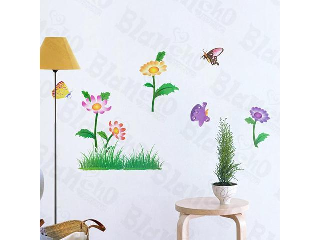 Home Kids Imaginative Art Garden Party - Wall Decorative Decals Appliques Stickers