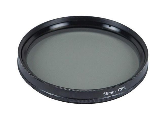 Monoprice 58mm CPL Filter