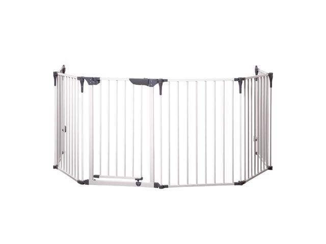Dreambaby Home Indoor Royale Converta 3 in 1 Play-Yard And Wide Barrier Safety Multi Panel Gate 146