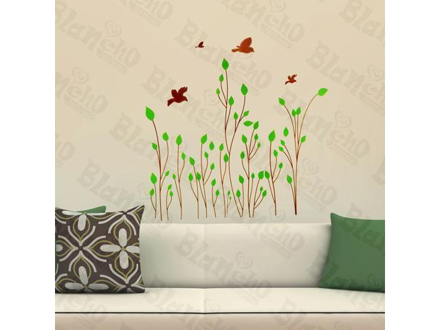 Home Kids Imaginative Art Intellectual Plant - Wall Decorative Decals Appliques Stickers