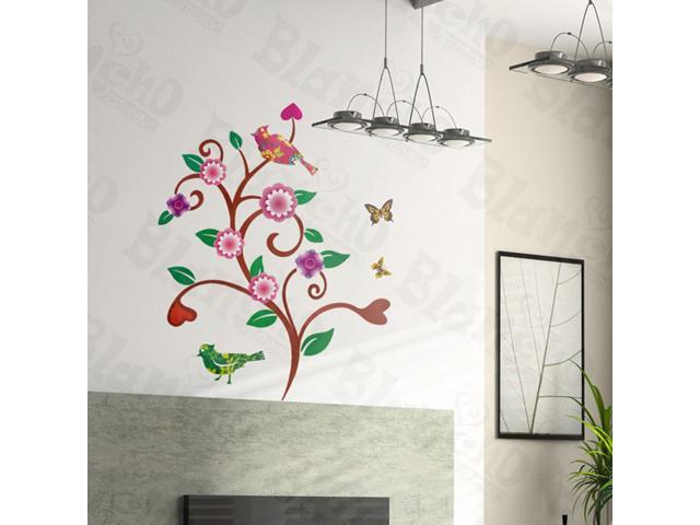 Home Kids Imaginative Art Wave Tree - Wall Decorative Decals Appliques Stickers