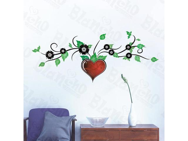 Home Kids Imaginative Art Forever Heart - Wall Decorative Decals Appliques Stickers
