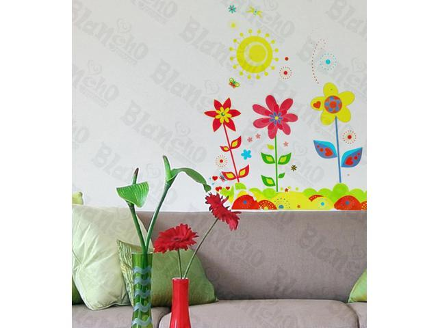 Home Kids Imaginative Art Sunny Blossom - Wall Decorative Decals Appliques Stickers