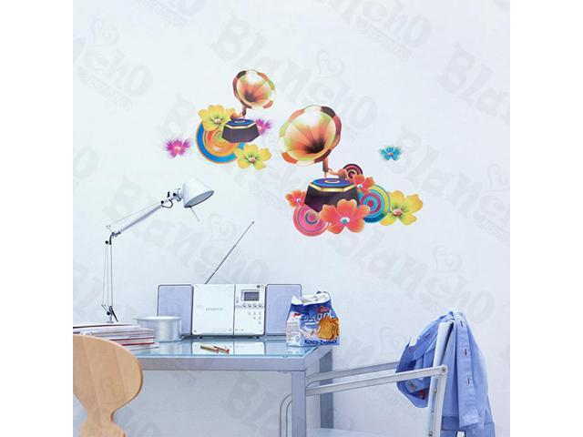 Home Kids Imaginative Art Morning Glory - Wall Decorative Decals Appliques Stickers