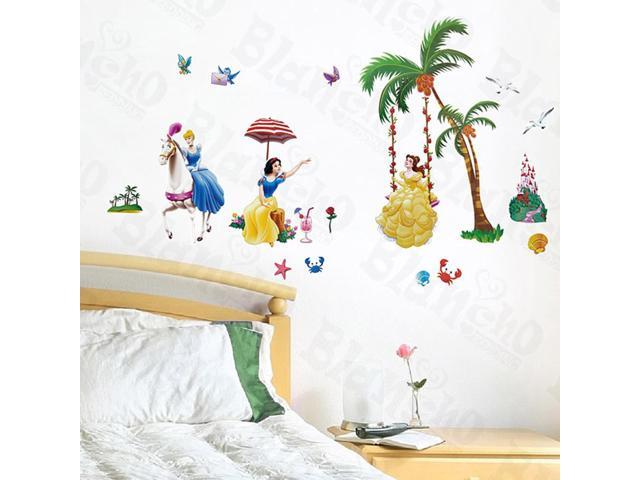 Home Kids Imaginative Art Princess Date - Wall Decorative Decals Appliques Stickers