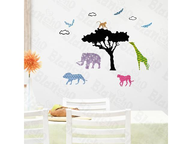Home Bedroom Savanna - Hemu 12.6 BY 23.6 Inches Wall Decorative Decals Appliques Stickers