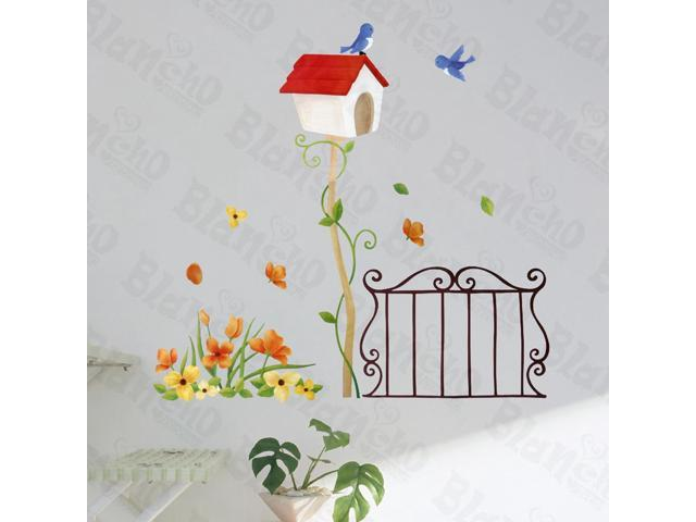 Home Bedroom Spring Waltz - Hemu 12.6 BY 23.6 Inches Wall Decorative Decals Appliques Stickers