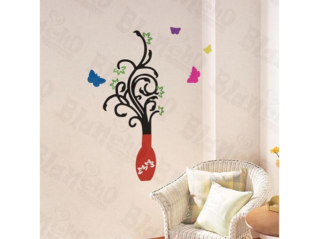Home Kids Imaginative Art Dancing Tree - Wall Decorative Decals Appliques Stickers