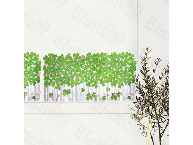 Home Kids Imaginative Art Green Garden 4 - Wall Decorative Decals Appliques Stickers
