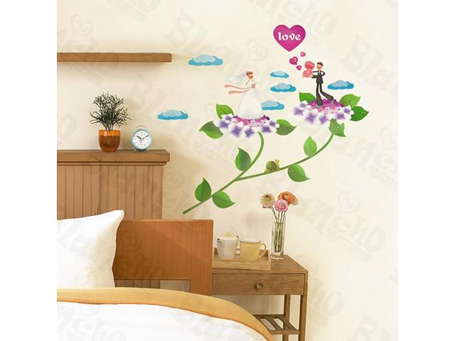 Home Kids Imaginative Art Newlywed - Wall Decorative Decals Appliques Stickers