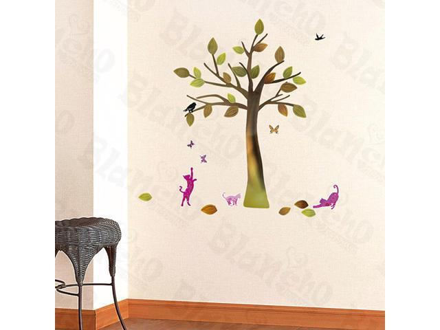 Home Kids Imaginative Art Falling Season - Wall Decorative Decals Appliques Stickers