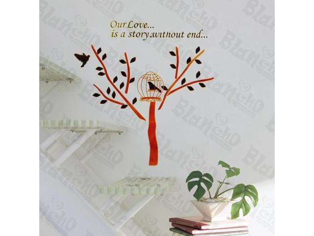 Home Kids Imaginative Art Hope Tree - Wall Decorative Decals Appliques Stickers