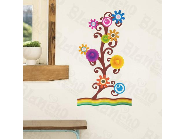 Home Kids Imaginative Art Varied Bloom - Wall Decorative Decals Appliques Stickers
