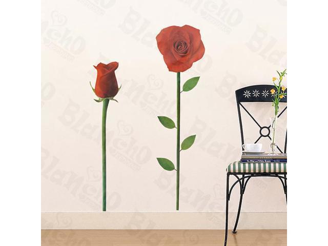 Home Kids Imaginative Art Ruddy Rose 2 - Wall Decorative Decals Appliques Stickers
